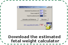 Estimating Fetal Weight